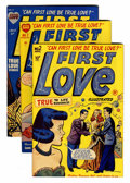 Golden Age (1938-1955):Romance, First Love Illustrated File Copies Box Lot (Harvey, 1949-63)Condition: Average VF+....