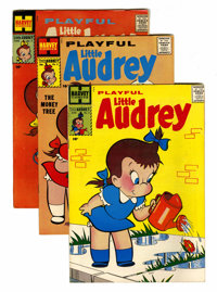 Playful Little Audrey File Copies Box Lot (Harvey, 1957-76) Condition: Average VF+