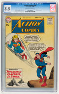 Silver Age (1956-1969):Superhero, Action Comics #258 (DC, 1959) CGC VF+ 8.5 Off-white to white pages....