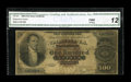 Large Size:Silver Certificates, Fr. 341 $100 1880 Silver Certificate CGA Fine 12....