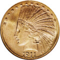 Indian Eagles, 1911-S $10 MS65 NGC....