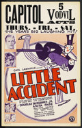 """Movie Posters:Comedy, Little Accident (Universal, 1930). Window Card (14"""" X 22""""). ..."""