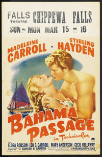 "Bahama Passage (Paramount, 1941). Window Card (14"" X 22"")"