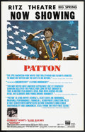 "Movie Posters:Academy Award Winner, Patton (20th Century Fox, 1970). Window Card (14"" X 22""). Academy Award Winner. Starring George C. Scott, Karl Malden, Steph..."