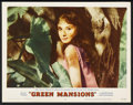 """Movie Posters:Drama, Green Mansions (MGM, 1959). Lobby Card (11"""" X 14""""). ..."""