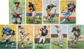 Autographs:Post Cards, Pro Football Hall of Famers Collector's Edition Postcards Lot ofOver 200, Signed by 152. Issued by the Pro Football Hall o...