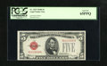 Small Size:Legal Tender Notes, Fr. 1529 $5 1928D Legal Tender Note. PCGS Gem New 65PPQ.. . ...