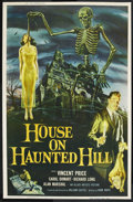 "Movie Posters:Horror, House on Haunted Hill (Allied Artists, 1959). Poster (40"" X 60"")...."
