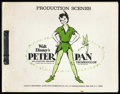 "Movie Posters:Animated, Peter Pan (Buena Vista, R-1969). Production Scenes Stills Book(8.75"" X 11"")...."
