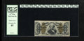 Fractional Currency:Third Issue, Fr. 1340 50¢ Third Issue Spinner Type II Gem New. Great margins for this issue, along with excellent color, ideal back cente...