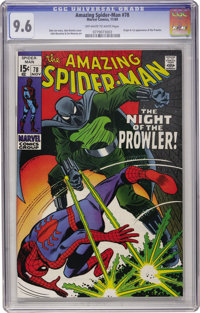 The Amazing Spider-Man #78 (Marvel, 1969) CGC NM+ 9.6 Off-white to white pages