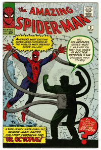 The Amazing Spider-Man #3 (Marvel, 1963) Condition: Qualified VF
