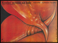 "The End of the Ice Cream Season (Zespol Filmowy, 1988). Polish One Sheet (26.5"" X 36.5""). Comedy. Starring Ann..."