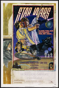 """Movie Posters:Science Fiction, Star Wars (20th Century Fox, 1977). One Sheet (27"""" X 41"""") Style D. Science Fiction. Starring Mark Hamill, Harrison Ford, Car..."""