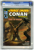 Magazines:Adventure, Savage Sword of Conan #5 (Marvel, 1975) CGC NM/MT 9.8 Off-white to white pages....