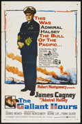 "Movie Posters:War, The Gallant Hours (United Artists, 1960). One Sheet (27"" X 41"")...."