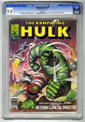 Magazines:Superhero, The Rampaging Hulk #3 (Marvel, 1977) CGC NM/MT 9.8 White pages....