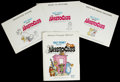 "Movie Posters:Animated, The Aristocats (Buena Vista, 1970). Press Kit (9.25"" X 12"", Multiple Pieces). ..."