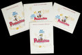 "Movie Posters:Animated, Pinocchio (Buena Vista, R-1971). Press Kit (9"" X 12"", MultiplePieces). ..."