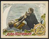 "The Sea Beast (Warner Brothers, 1926). Lobby Card (11"" X 14""). Action. Starring John Barrymore, Dolores Costel..."