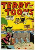 "Golden Age (1938-1955):Funny Animal, Terry-Toons Comics #11 Davis Crippen (""D"" Copy) pedigree (Timely,1943) Condition: FN/VF...."
