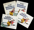 "Movie Posters:Animated, Bedknobs and Broomsticks (Buena Vista, 1971). Press Kit (9"" X 12"",Multiple Items) and Stills (2) (8"" X 10""). ..."