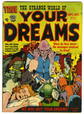 Golden Age (1938-1955):Horror, Strange World of Your Dreams #2 (Prize, 1952) Condition: VG+....