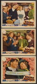 "Movie Posters:Comedy, Double Wedding (MGM, 1937). Lobby Cards (3) (11"" X 14""). Comedy.Starring William Powell, Myrna Loy, Florence Rice, John Bea...(Total: 3 Items)"
