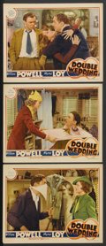 """Movie Posters:Comedy, Double Wedding (MGM, 1937). Lobby Cards (3) (11"""" X 14""""). Comedy.Starring William Powell, Myrna Loy, Florence Rice, John Bea...(Total: 3 Items)"""