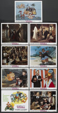 """Movie Posters:Animated, Bedknobs and Broomsticks (Buena Vista, 1971). Lobby Card Set of 9 (11"""" X 14""""). ... (Total: 9 Items)"""