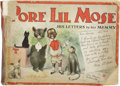 Platinum Age (1897-1937):Miscellaneous, Pore Lil Mose His Letters to His Mammy (Cupples and Leon, 1902) Condition: FR/GD....