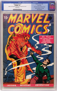 Marvel Comics #1 Pay Copy (Timely, 1939) CGC VF/NM 9.0 Off-white pages