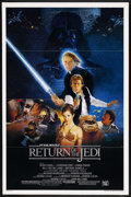 "Movie Posters:Science Fiction, Return of the Jedi (20th Century Fox, 1983). One Sheet (27"" X 41"")Style B. Science Fiction. Starring Mark Hamill, Harrison ..."