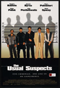 "Movie Posters:Crime, The Usual Suspects (Columbia/Tristar, 1995). One Sheet (27"" X 40"")DS. Crime. Starring Stephen Baldwin, Gabriel Byrne, Benic..."