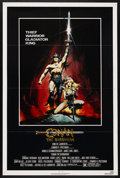 "Movie Posters:Action, Conan the Barbarian (Universal, 1982). One Sheet (27"" X 41"").Action. Starring Arnold Schwarzenegger, James Earl Jones, Max ..."