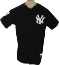 Baseball Collectibles:Uniforms, 2004 Joe Torre Batting Practice Worn Jersey from Japanese Exhibition. Major League Baseball held a special exhibition to be...