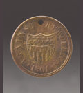 Military & Patriotic:Civil War, Civil War Identification Disk. Civil War identification disks were the precursors to the modern day dog tags. Of use in iden...