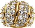 Estate Jewelry:Rings, Diamond, Gold Ring, French. ...