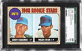 Baseball Cards:Singles (1960-1969), 1968 Topps Nolan Ryan Rookie #177 SGC 86 NM+ 7.5....