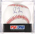 Autographs:Bats, Greg Maddux Single Signed Baseball, PSA Mint+ 9.5 ...