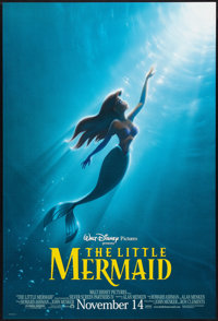 "The Little Mermaid (Buena Vista, R-1997). One Sheet (27"" X 40"") DS Advance. Animated"