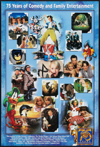 """Warner Brothers 75th Anniversary (Warner Brothers, 1998). One Sheets (3) (27"""" X 40"""") SS. Miscellaneous. ... (T..."""