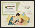 "Movie Posters:Drama, Picnic (Columbia, 1956). Title Lobby Card (11"" X 14""). Drama.. ..."