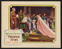 "The Prisoner of Zenda (United Artists, 1937). Lobby Card (11"" X 14""). Swashbuckler"