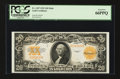 Large Size:Gold Certificates, Fr. 1187 $20 1922 Gold Certificate PCGS Gem New 66PPQ....