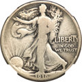 1916 50C Walking Liberty Half Dollar, Judd-1992, formerly Judd-1797, Pollock-2053, Low R.7, PR8 NGC....(PCGS# 62290)