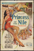 "Movie Posters:Adventure, Princess of the Nile (20th Century Fox, 1954). One Sheet (27"" X41""). Adventure.. ..."