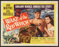 "Movie Posters:Adventure, Wake of the Red Witch (Republic, 1949). Half Sheet (22"" X 28"") Style B. Adventure.. ..."