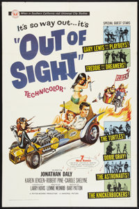 """Out of Sight (Universal, 1966). One Sheet (27"""" X 41""""). Rock and Roll"""