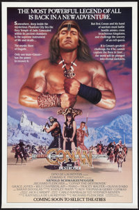 "Conan the Destroyer (Universal, 1984). One Sheet (27"" X 41"") Advance. Action"
